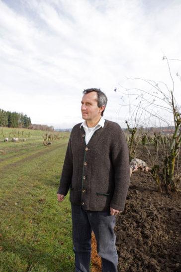 Johannes von Perger – Äpfel, Obstgartenschweine, Säfte und ein Freiherr mit Freisinn