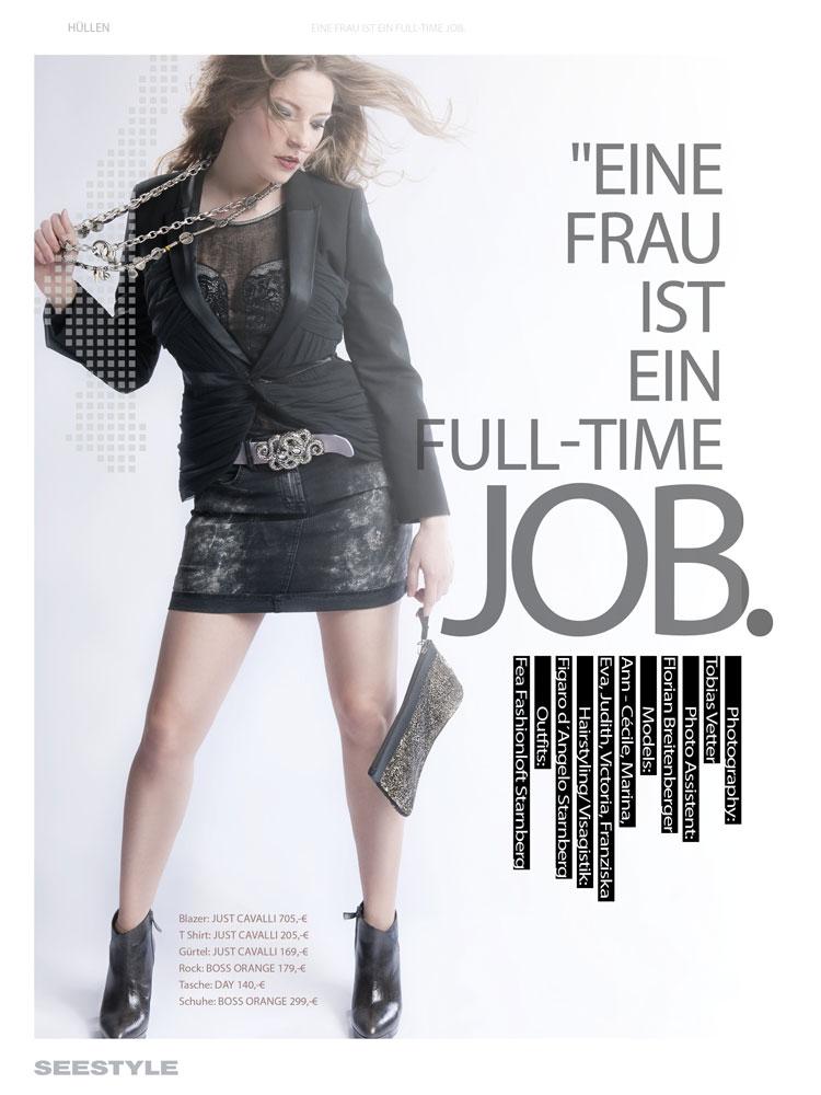 Eine Frau ist ein Full-Time Job