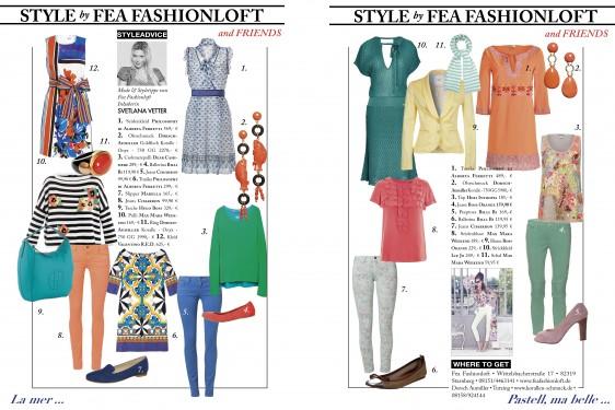 Fea Fashionloft & friends – Style Advice: Die schönsten Teile für den Frühling