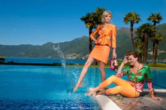 """Modefotografie München """"Vieni via con me … it`s wonderful"""" Modeproduktion am Lago Maggiore"""