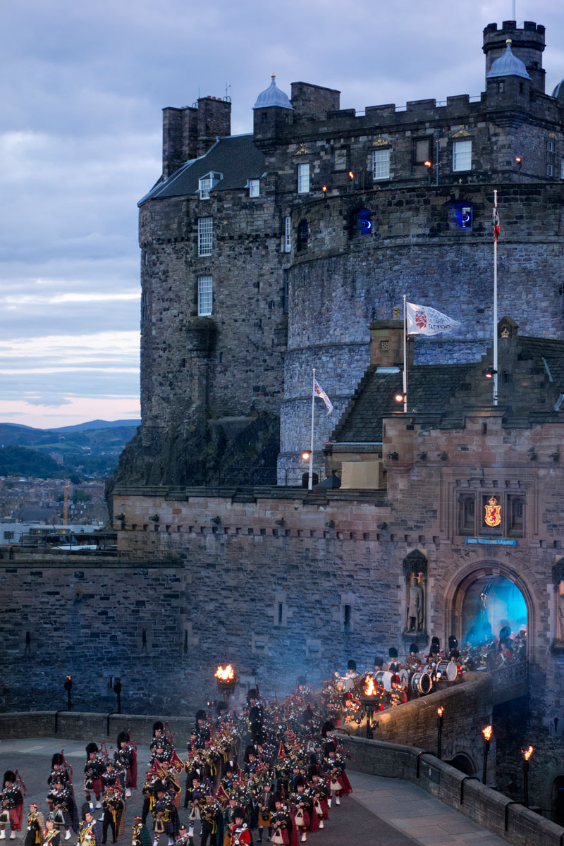 Schottland Luxus Reise - The Military Tattoo Festival in Edinburgh