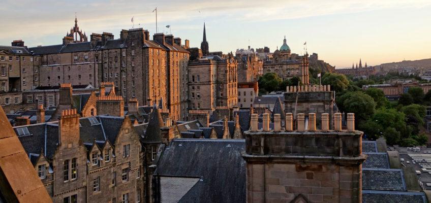 Schottland Luxus Reise - Stadt Edinburgh