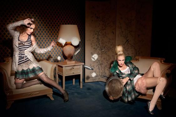 """Modefotografie München """"Hokus Pokus – Mode die verzaubert"""" Fashioneditorial"""