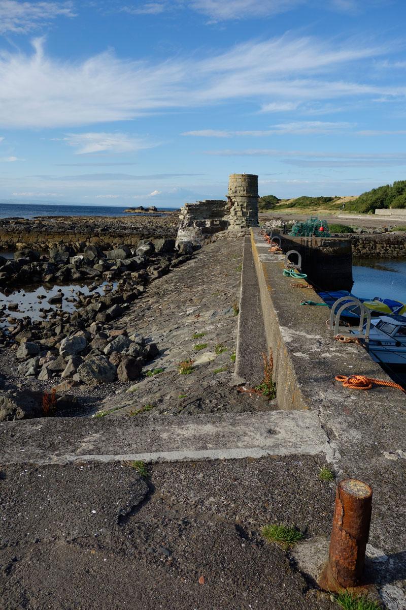 Luxusreise Schottland - Fischerei an der Küste Schottlands