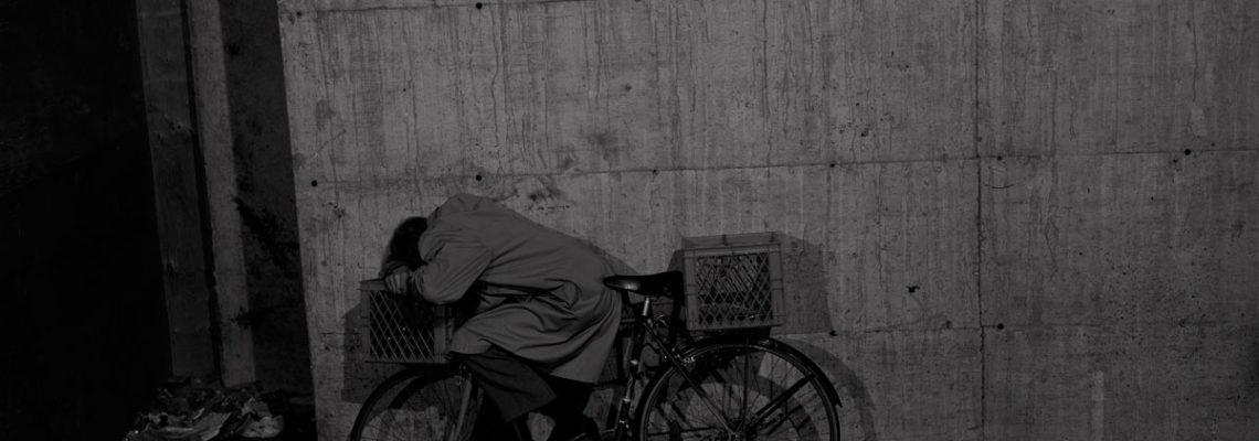 Jeff Wall Porträt - Cyclist 1996