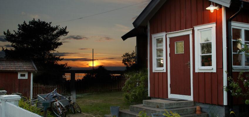 Segeln Scherengarten - Abendstimmung in Sandhamn