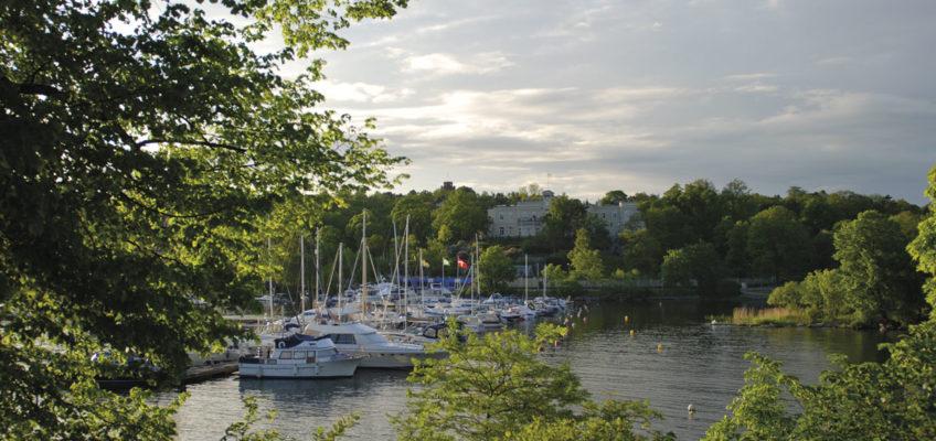 Segeln Schärengarten - Gästehafen Ryssviken