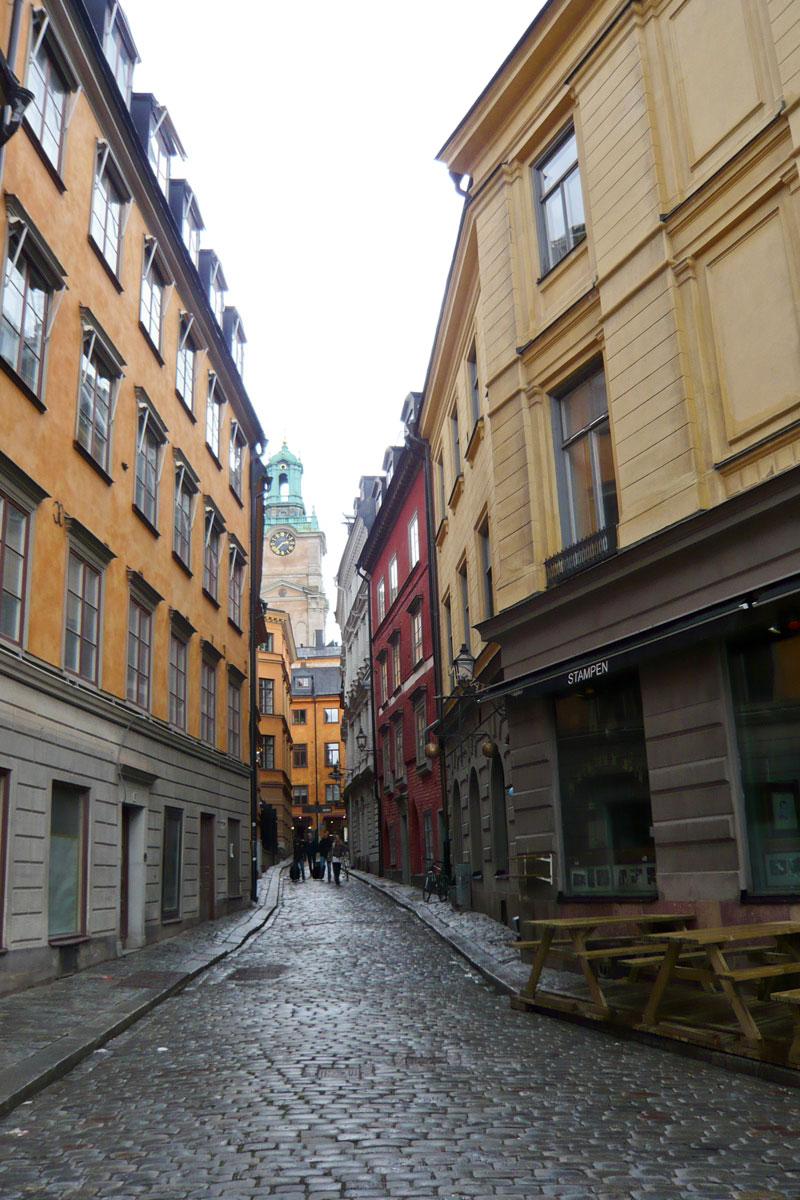 Segeln Schärengarten - Stockholmer Altstadt Gamla Stan