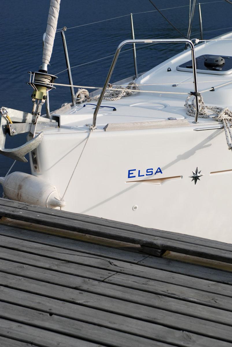 Segeln Scherengarten - Yacht elsa