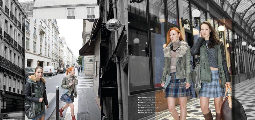 Fashionshooting der Münchner Agentur in Paris