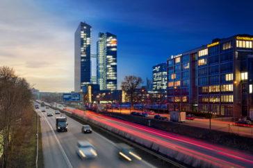 Rekordnachfrage Immobilien - Autobahn München