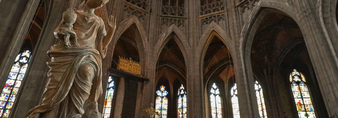 Kulturhauptstadt Mons Collegiale Sainte Waudru Altar
