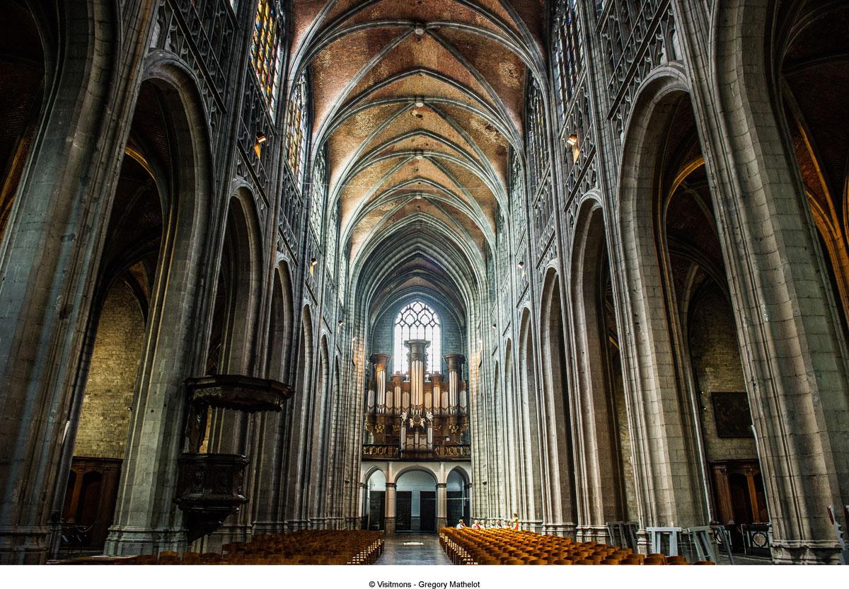 Kulturhauptstadt Mons Ducassedoudou Collegiale Sainte Waudru