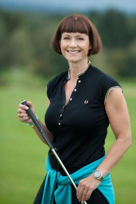 Golfschwung optimieren - Porträt Kirstin Renner