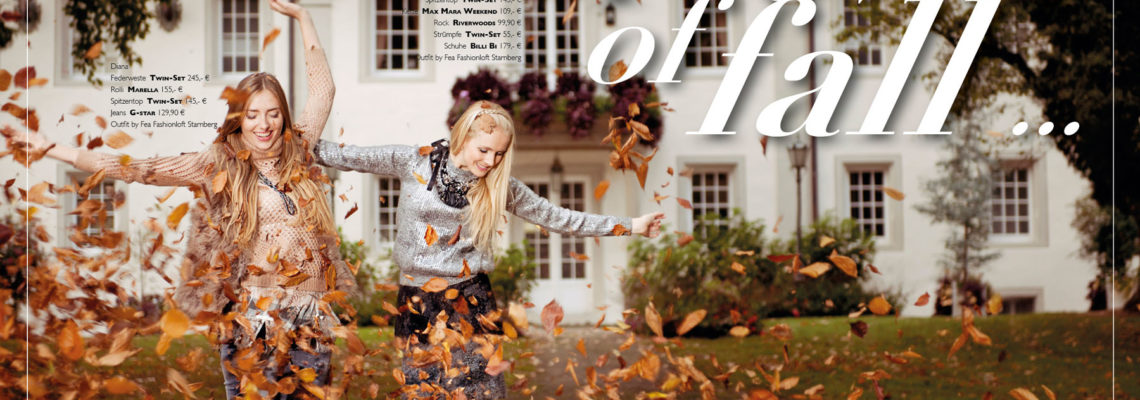 "Modefotografie München – ""Flower of fall – colourFall"" das Fashioneditorial"