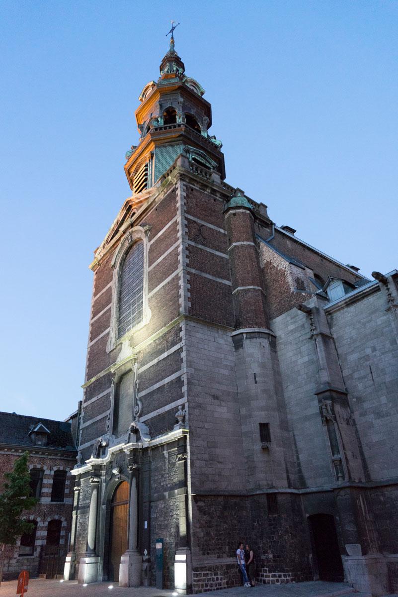 Kulturhauptstadt Mons Sankt Elisabeth Kirche