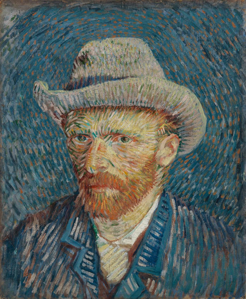 Vincent van Gogh Porträt – Knowing Art