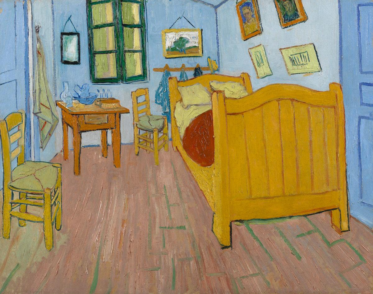 van Gogh Porträt - Selbstporträt