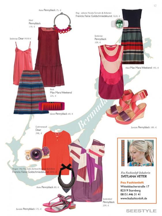 Mode Outfits für den Frühling – von den Modeexperten des Fea Fashionloft Starnberg