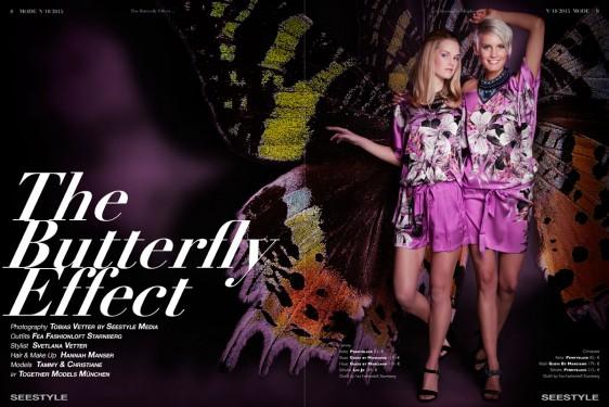 Modefotografie der schönsten Frühlings Kollektion – The Butterfly Effect