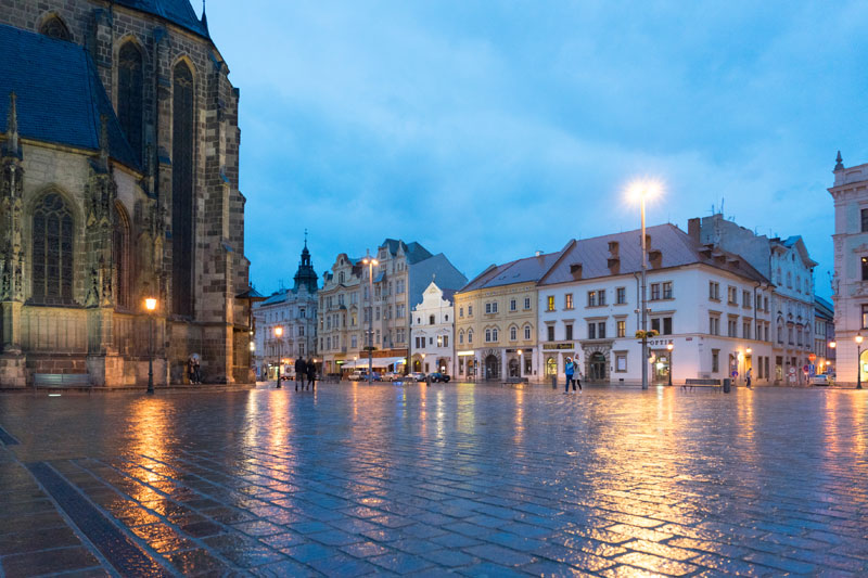Das scheinbar unscheinbare Pilsen ist neben Mons Kulturhauptstadt 2015