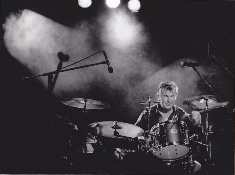 Dr Manfred Frei - Pete York - legendärer Schlagzeuger und beim All that Jazz Starnberg mit dabei