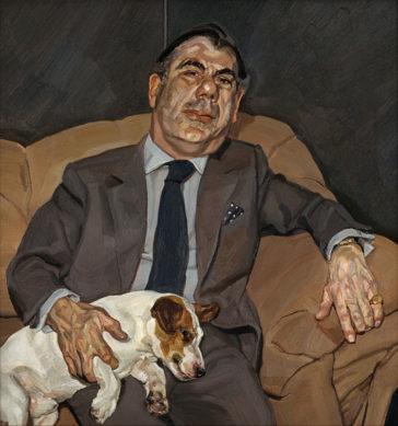 Lucian Freud - Guy and Speck - Kunstportät des britischen Ausnahmenkünstlers im Seestyle Magazin