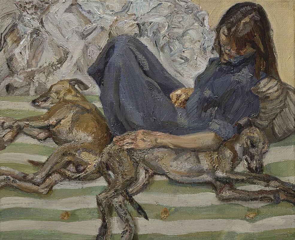 Lucian Freud - Tripleportrait 1987-88