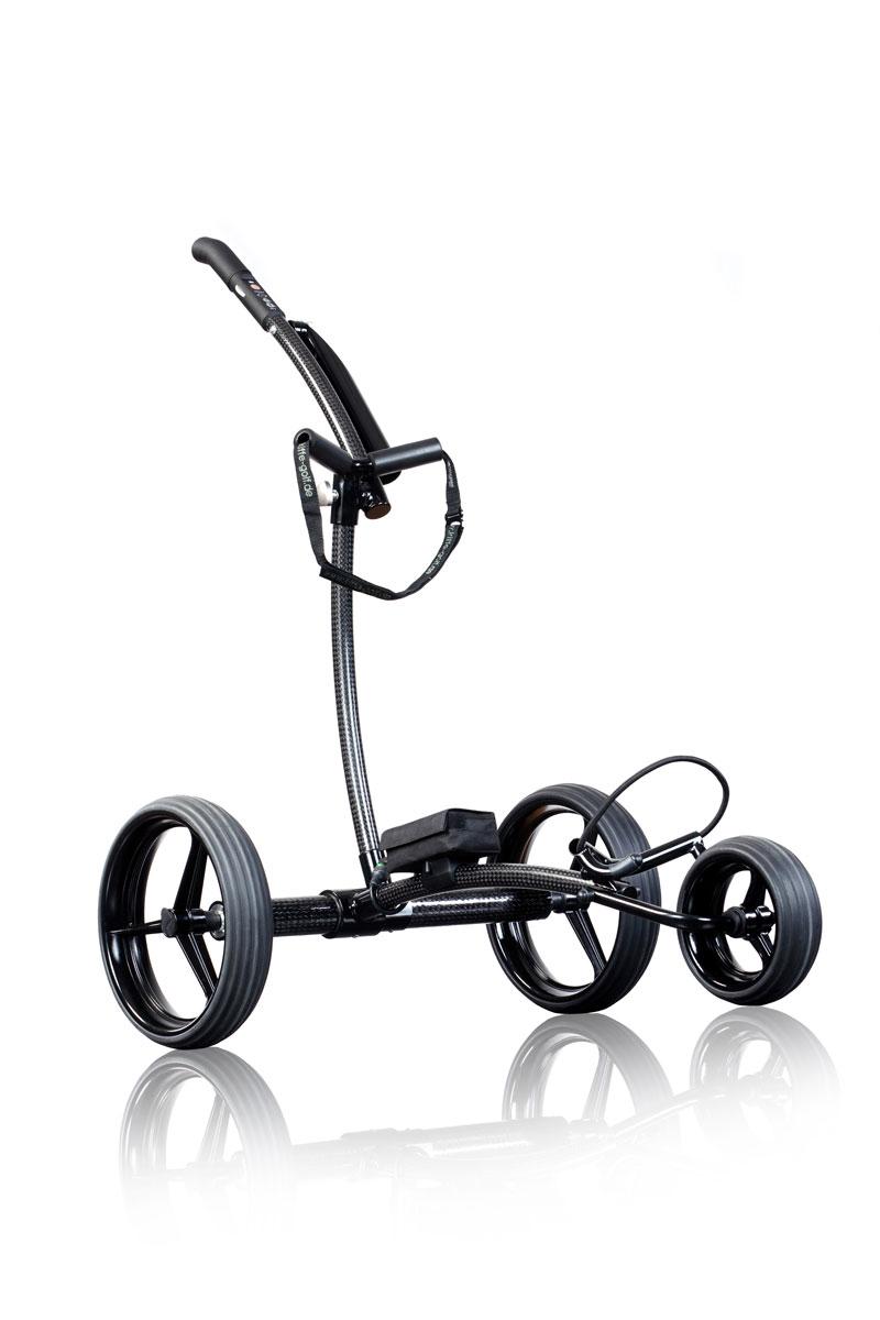 Der Kiffe K8 Golftrolley aus Carbon