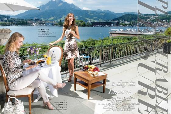 Modefotografie Fashion – ein Sommertag in Luzern
