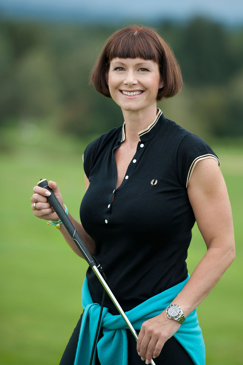 Kirsten Renner – als Diplomsportwissenschaftlerin und Personal Trainerin für Golf Fitness trainiert sie Menschen, die mehr erwarten.