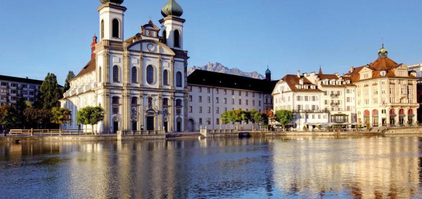 Die Jesuitenkirche in Luzern