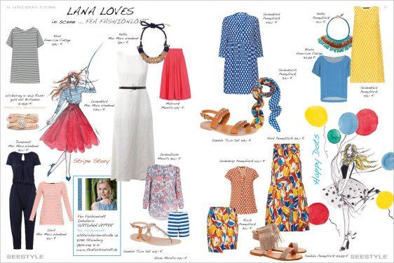 Modetipps für Frühlingsoutfits und Sommerkleider