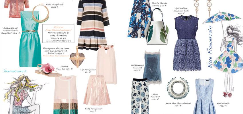 Frühlingsoutfits und Modetipps von Svetlana Vetter, Fea Fashionloft Starnberg