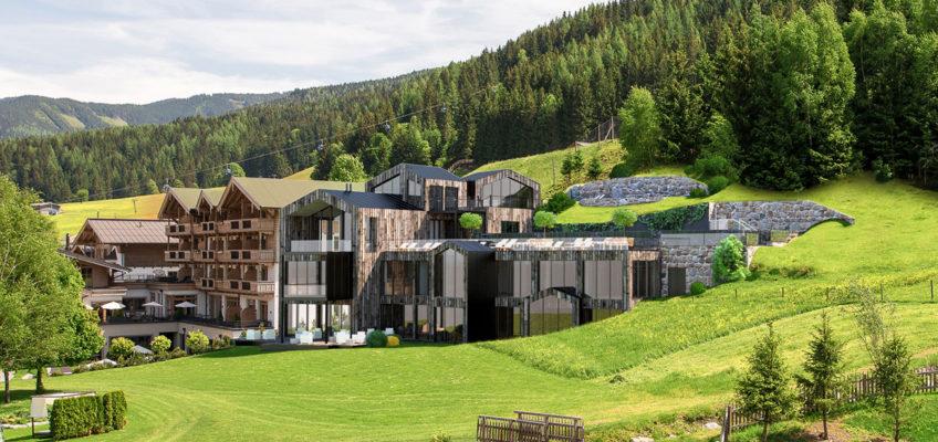 Naturhotel, Familie, Alpen