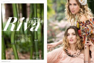 Fashioneditorial Viva la Riva – Sommermode am Gardasee
