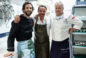 Jose Avillez, Hans Neuner, Dieter Koschina - drei Köche mit je 2 Michelin Sternen