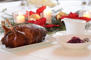 Die perfekte Weihnachtsgans fertig Online bestellen