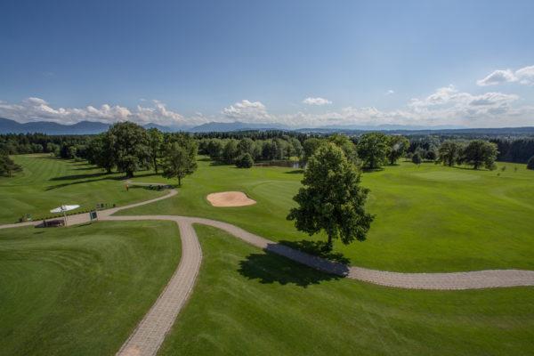 Golfclub St. Eurach, im Süden Münchens am Starnberger See gelegen