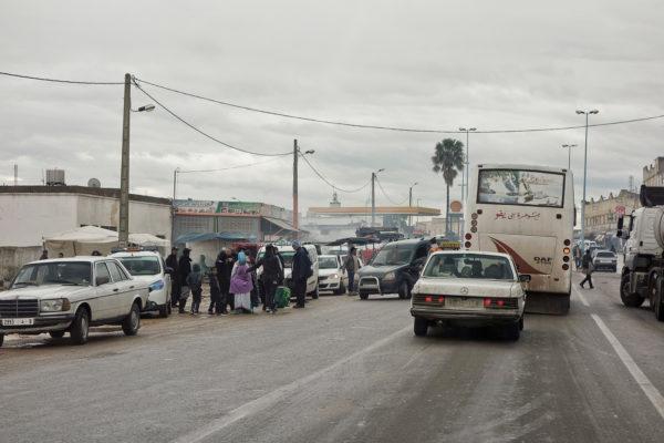 Marokko Strassenmarkt