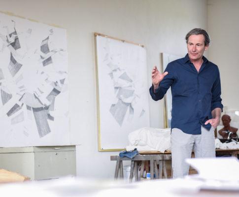 Matthias Gangkofner, Maler, Bildhauer, Zeichner