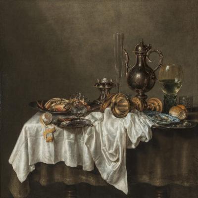 die Hermitage ist die Dependance der St. Petersburger und zeigt eindrucksvolle Wechselausstellungen. Hier zu sehen: Willem Claesz. Heda, Breakfast with a Crab, 1648 © State Hermitage Museum, St Petersburg