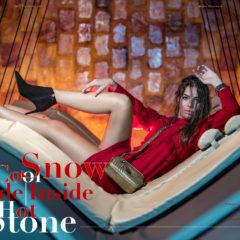 Winter Fashioneditorial Seestyle Magazin - aus dem Aqua Dome Tirol