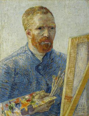 das van Gogh Museum gehört zu den bekanntesten Museen und zeigt eine hervorragende Sammlung an Gemälden - sowohl von van Gogh selbst, als auch von seinen Wegbegleitern - Self Portrait as an Painter © van Gogh Museum