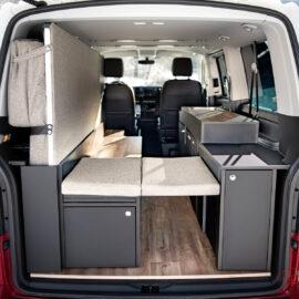 Der Van Ausbau ist besonders schön und ästhetisch gestaltet. Designliebhaber kommen bei Good Life Vans voll auf Ihre Kosten.
